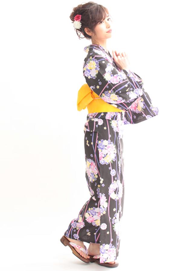 浴衣  069F  【着付け無料】